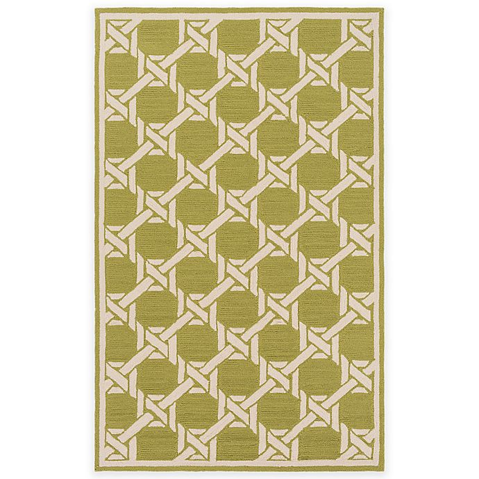 Alternate image 1 for Surya Kazo 9-Foot x 12-Foot Indoor/Outdoor Area Rug in Olive