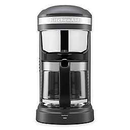 KitchenAid® 12 Cup Drip Coffee Maker w/ Spiral Showerhead in Charcoal Grey