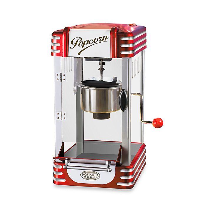 Nostalgia Electrics 50 S Style Kettle Popcorn Popper