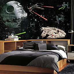 Star Wars™ Vehicles XL Chair Rail Prepasted 10.5-Foot x 6-Foot Mural