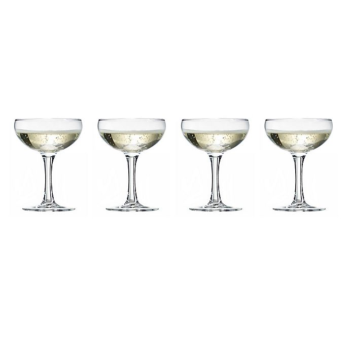 Alternate image 1 for Luminarc® BARCRAFT™ Coupe Cocktail Glasses (Set of 4)