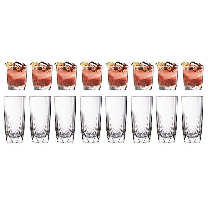 Alternate image 1 for Luminarc Ascot 16-Piece Tumbler Set
