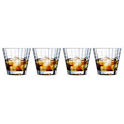 Cristal D'Arques' Iroko Double Old Fashion Glasses (Set of 4)