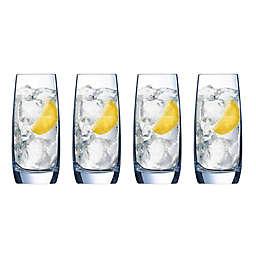 Luminarc Grand Estate Highball Glasses (Set of 4)