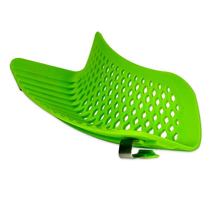 Alternate image 1 for Epoca Kitchen Extras™ Silicone Clip-on Kitchen Strainer in Green