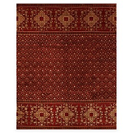 Feizy Anchala Rug in Red