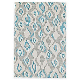 Feizy Gara Diamonds Rug in Blue/Grey