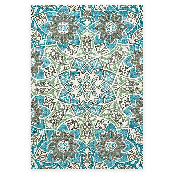 Buy Feizy Gara Floral Medallion 8-Foot X 11-Foot Area Rug
