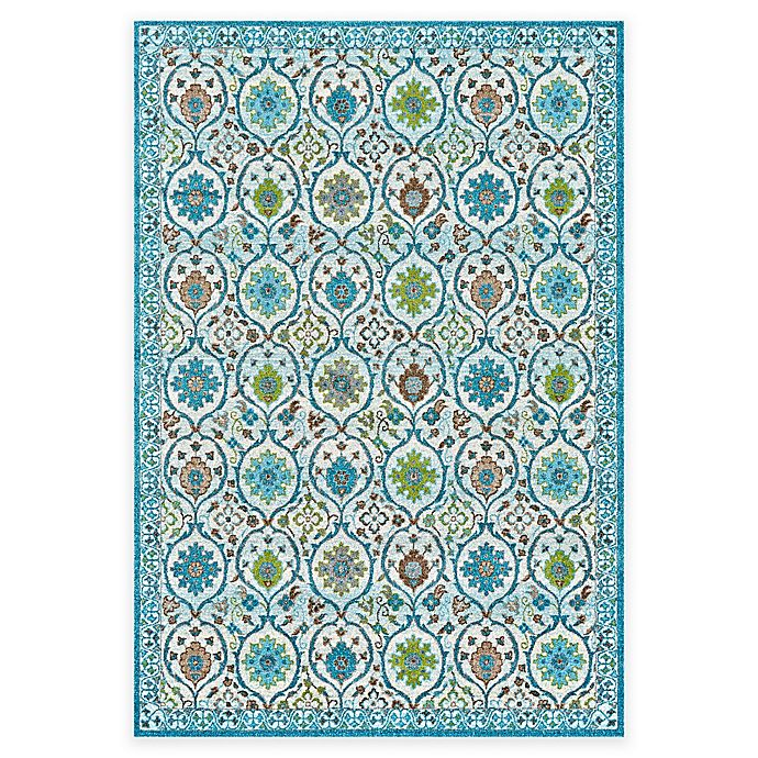 Alternate image 1 for Feizy Gara Medallion 2-Foot 2-Inch x 4-Foot Accent Rug in Pistachio