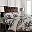 Part of the Tribeca Living Casablanca5-Piece Reversible Duvet Cover Set in Blue/Beige