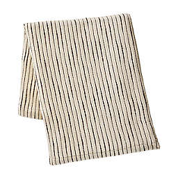 KCNY Chenille 50x60 Throw in Light Beige