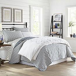 Stone Cottage® Willow Way Ticking Stripe Quilt Set in Navy