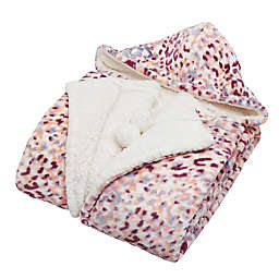Chrissy Ultra Soft Plush 50x70 Hooded Throw, Multi