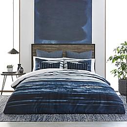 Izi® Shibori Print Duvet Cover Set in Indigo