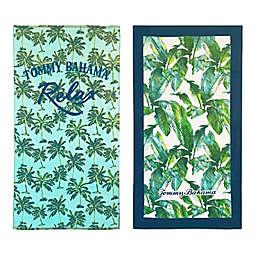 Relax Palms/Banana Banana Beach Towel Set