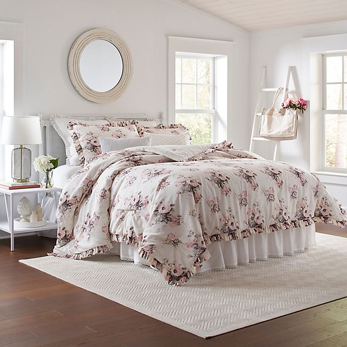 Laura Ashley® Viola 3-Piece Comforter Set