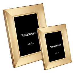 Waterford® Lismore Diamond Frame in Gold