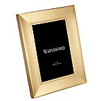 Waterford® Lismore Diamond 8-Inch x 10-Inch Picture Frame in Gold