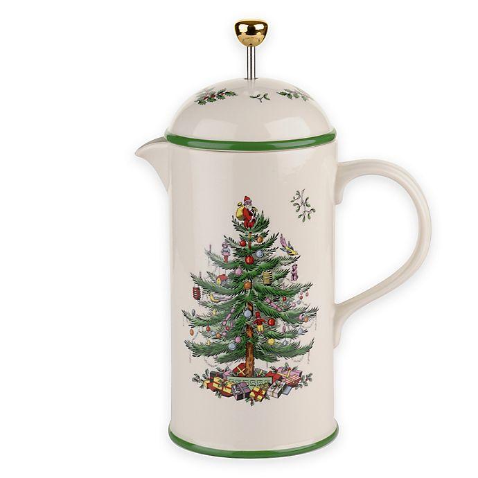 Spode Christmas Tree Sale: Spode® Christmas Tree French Press