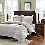 Madison Park Microcell Down Alternative Full/Queen Comforter Set in Grey