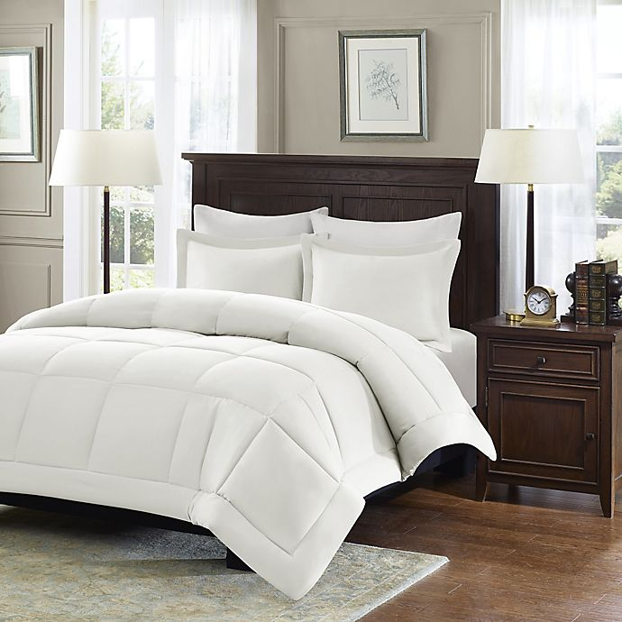 Alternate image 1 for Madison Park Microcell Down Alternative Comforter Set