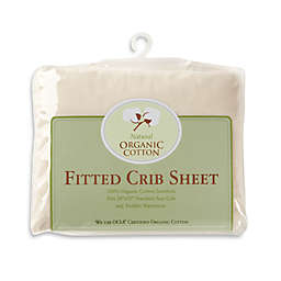 TL Care® Knit Fitted Crib Sheet Made with Organic Cotton in Natural