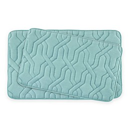 Bounce Comfort Drona Memory Foam 2-Piece Bath Mat Set