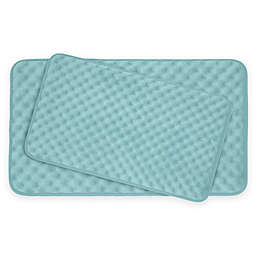 Bounce Comfort Massage Memory Foam 2-Piece Bath Mat Set