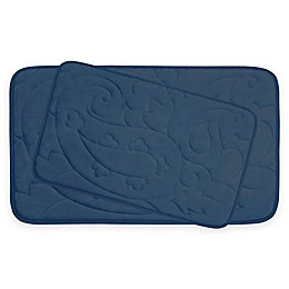 Bounce Comfort Pelton Memory Foam 2-Piece Bath Mat Set