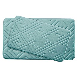 Bounce Comfort Caicos Memory Foam 2-Piece Bath Mat Set