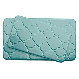 Bounce Comfort Dorothy Memory Foam 2-Piece Bath Mat Set