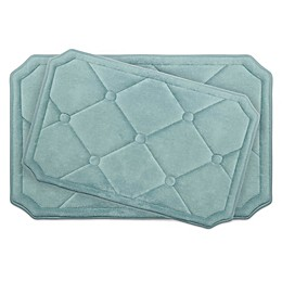 Bounce Comfort Gertie Memory Foam 2-Piece Bath Mat Set