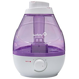 Safety First 360 Degree Cool Mist Ultrasonic Humidifier