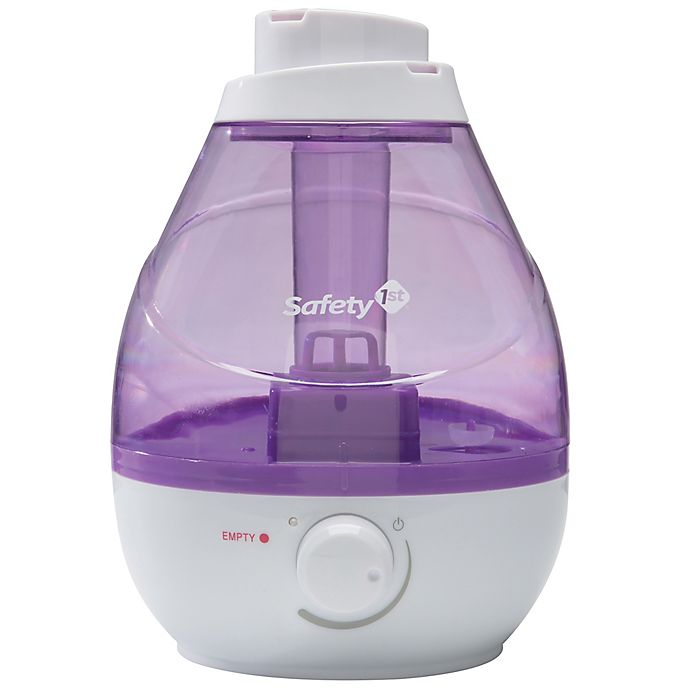 Alternate image 1 for Safety First 360 Degree Cool Mist Ultrasonic Humidifier