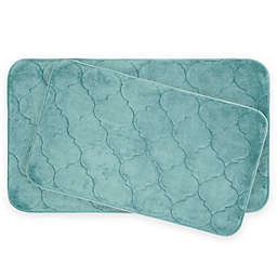 Bounce Comfort Faymore Memory Foam 2-Piece Bath Mat Set