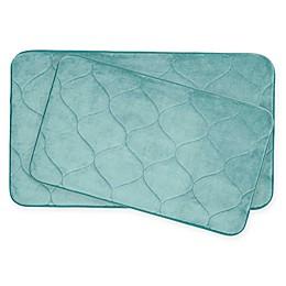 Bounce Comfort Palace Memory Foam 2-Piece Bath Mat Set