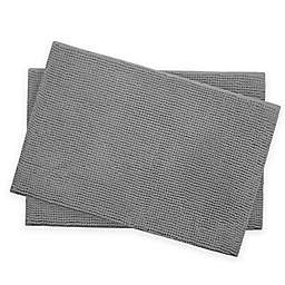 Bounce Comfort Memory Foam Chenille 17-Inch x 24-Inch Bath Mats (Set of 2)
