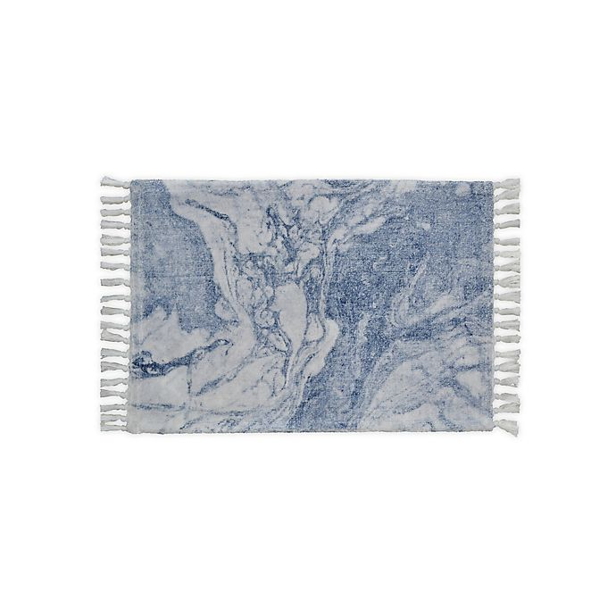 Alternate image 1 for Wamsutta® Collective Marble Print Bath Rug