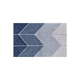 "Wamsutta® Collective Ombre Chevron 20"" x 33"" Bath Rug"