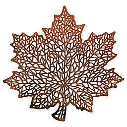 Stained Glass Leaf Placemat
