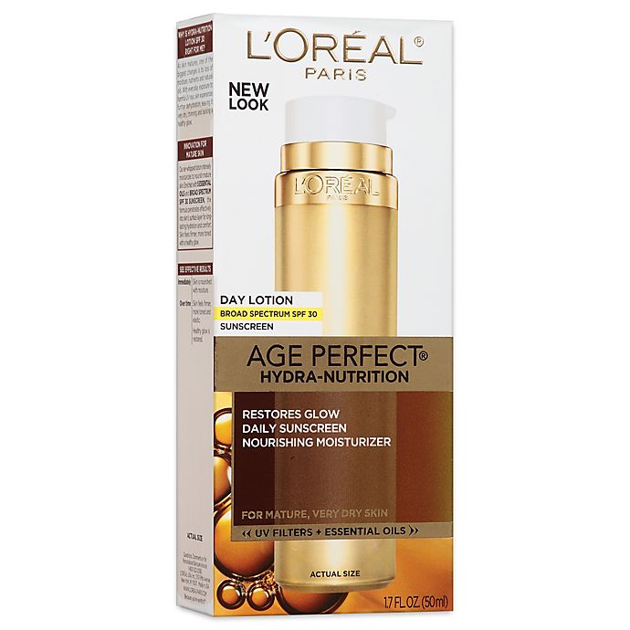 L'Oreal® Age Perfect® 1 7 oz  Hydra-Nutrition Day Lotion with SPF 30