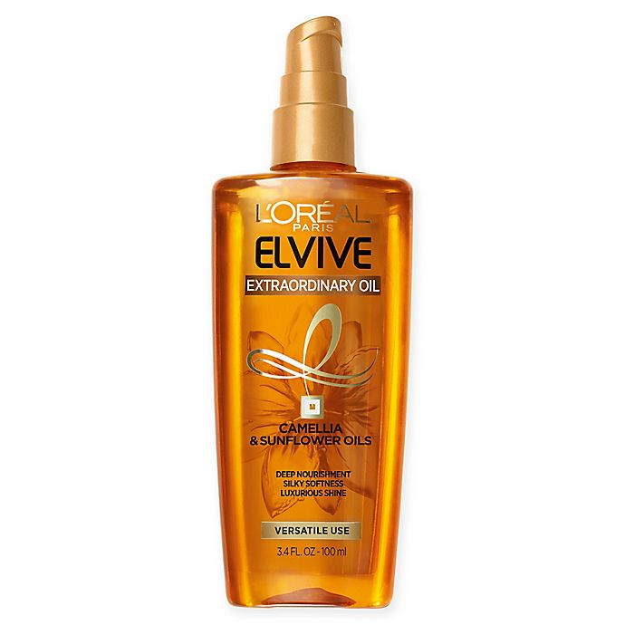 Alternate image 1 for L'Oréal® Elvive Extraordinary Oil 3.4 oz. Lustrous Oil Serum