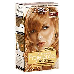 L'Oréal® Superior Preference Fade-Defying Color and Shine in 9GR Light Reddish Blonde
