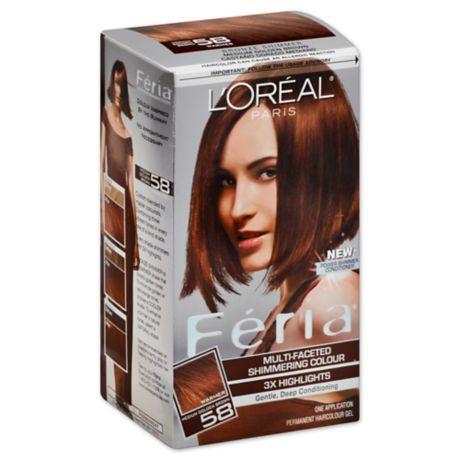 L Oreal Paris Multi Faceted Feria Haircolor In 58 Medium Golden Brown Bed Bath Beyond