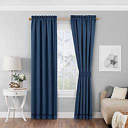 Vue™ Bensonhurst 84-Inch Rod Pocket Room Darkening Window Curtain Panels (Set of 2)