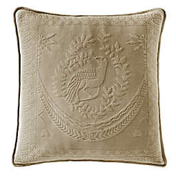 Historic Charleston Collection Matelasse 20-Inch Square Pillow