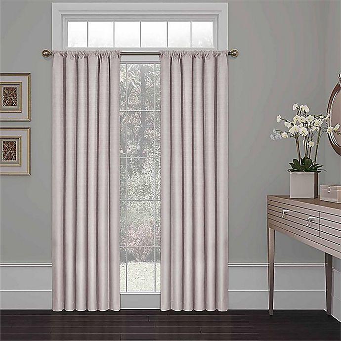 Alternate image 1 for Eclipse Kate 54-Inch Rod Pocket Room Darkening Window Curtain Panel (Single)