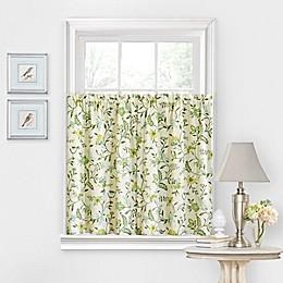 Waverly® Carolina Crewel 36-Inch Window Curtain Tier Pair