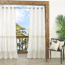 Waverly Resort Sun-N-Shade Sheer Grommet Window Curtain Panel (Single)