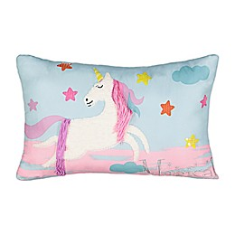 Waverly® Spree Over The Rainbow Unicorn Multicolor Pillow
